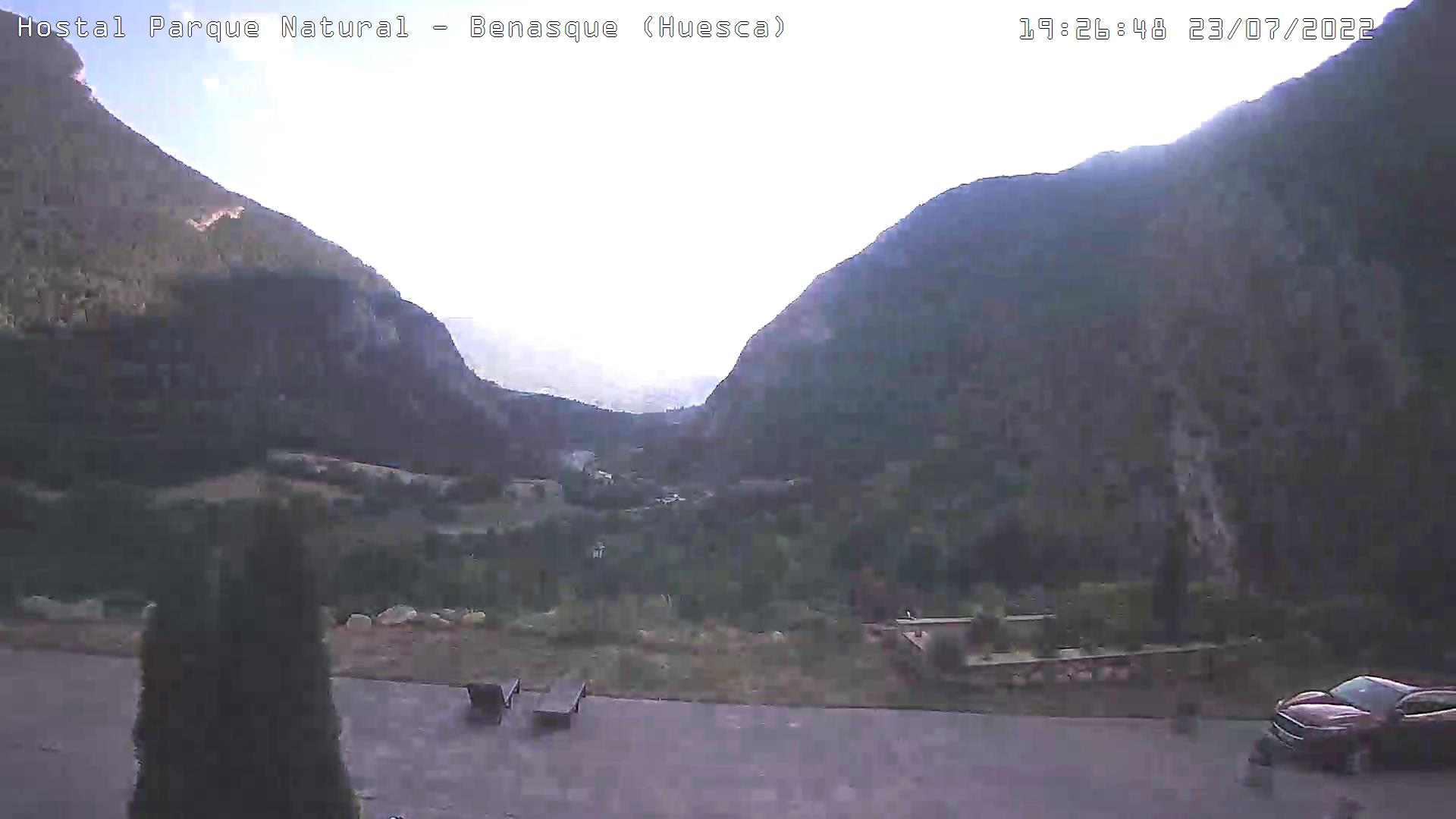 webcam hostal parque natural en benasque