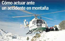 Cómo actuar ante un accidente de montaña