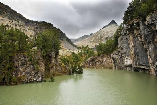 Forau de Aiguallut inundado