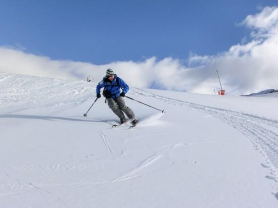 esquiador en Cerler