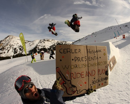 World Snowboard Day en Cerler