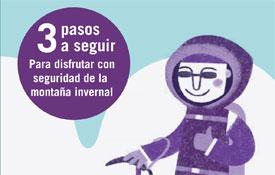 Recomendaciones para la práctica segura de actividades invernales