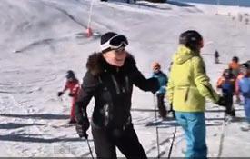 Un día de esquí con Blanca Fernández Ochoa