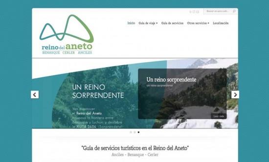 nueva web de la oficina de turismo de benasque hostal