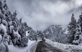 Nevada navideña en el valle de Benasque