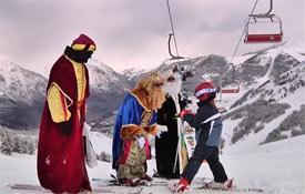 Los Reyes Magos visitan Cerler