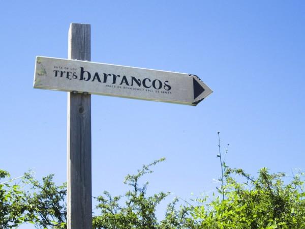 ruta de los tres barrancos