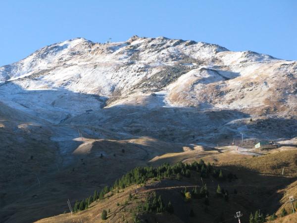 Primeras nieves en Cerler