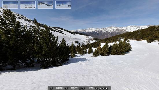 fotografia panoramica cerler