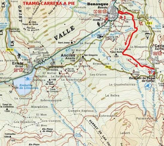 trail running triatlhon benasque