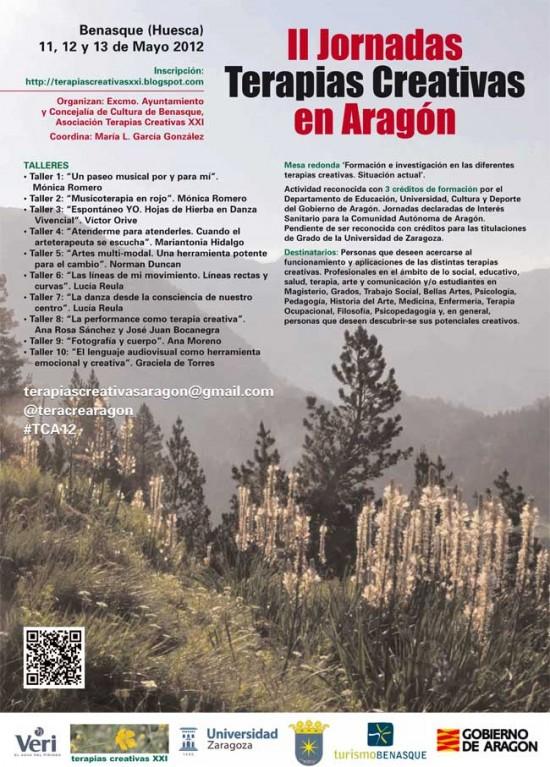 II Jornadas Terapias Creativas Aragon
