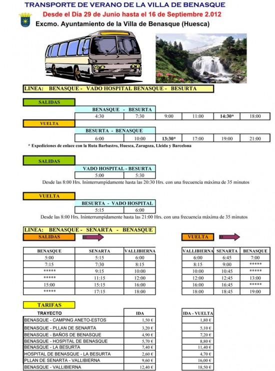 Autobus Besurta 2012